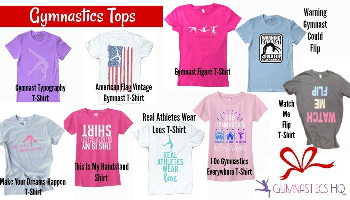 gymnastics gifts shirts