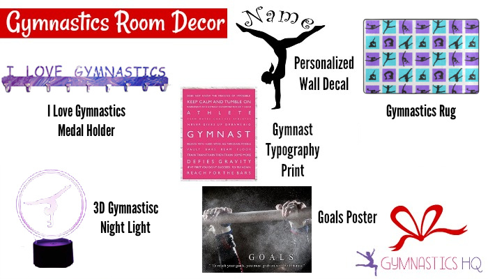 gymnastics room decor gifts