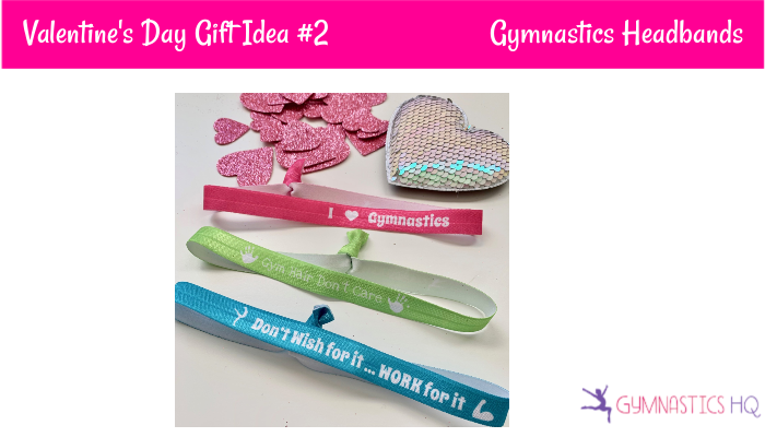 gymnastics Valentine's Day gift idea