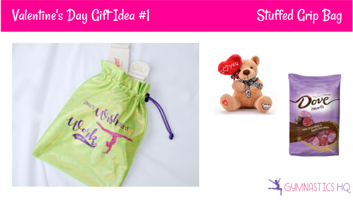 gymnastics valentines day gift idea