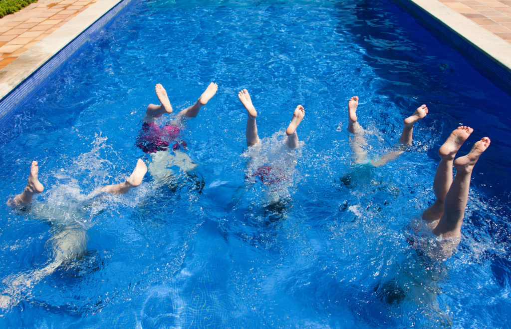 Creative ways to practice gymnastics this summer