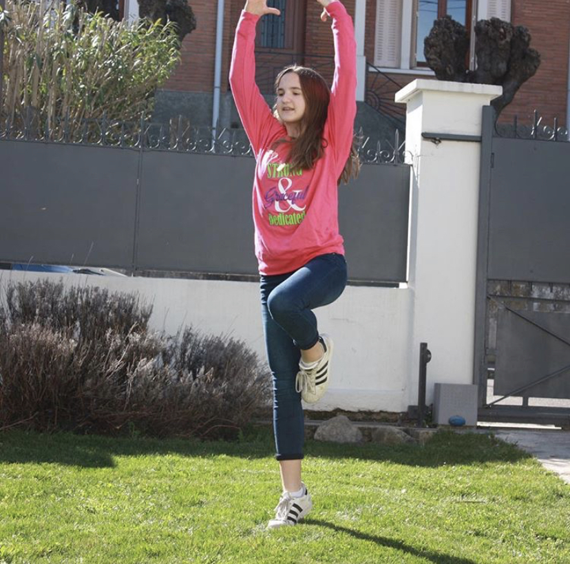 Creative ways to practice gymnastics this summer.