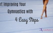 Start Improving your Gymnastics with 4 Easy Steps {Free Downloadable Game}