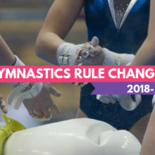 2018 Gymnastics Rule Changes