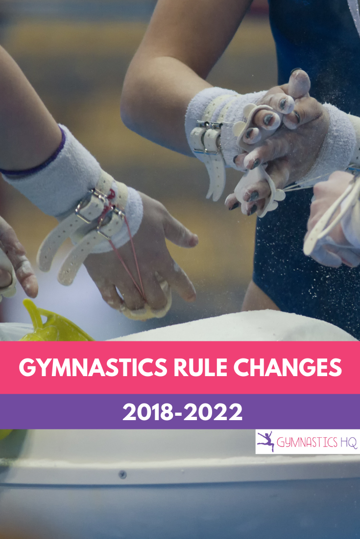 Gymnastics rule changes for 2018
