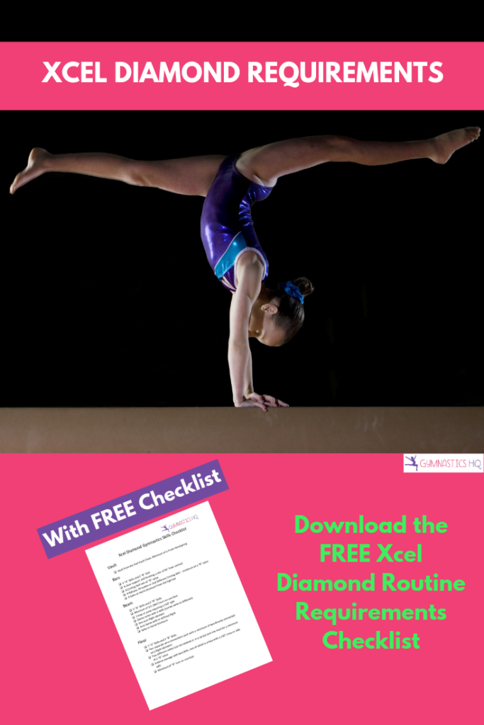Download the free checklist for Xcel Diamond to see if you have all the right elements in your routines.