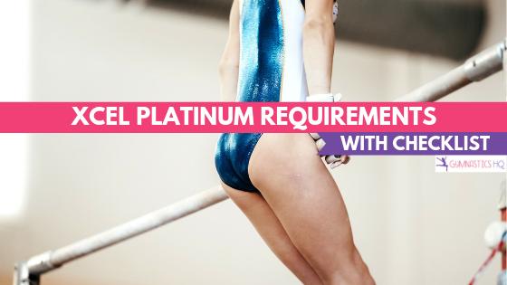 Xcel Platinum Gymnastics Requirements