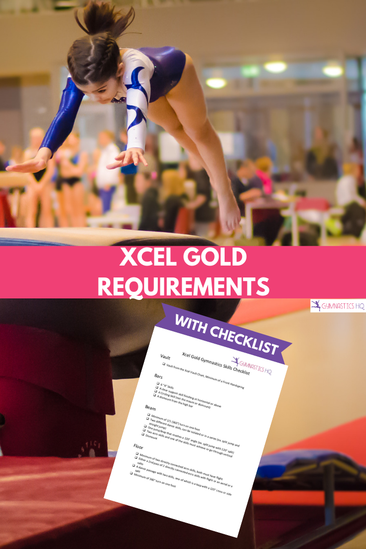 Xcel Gold requirements