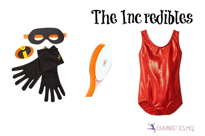 the incredibles halloween costume with leotard