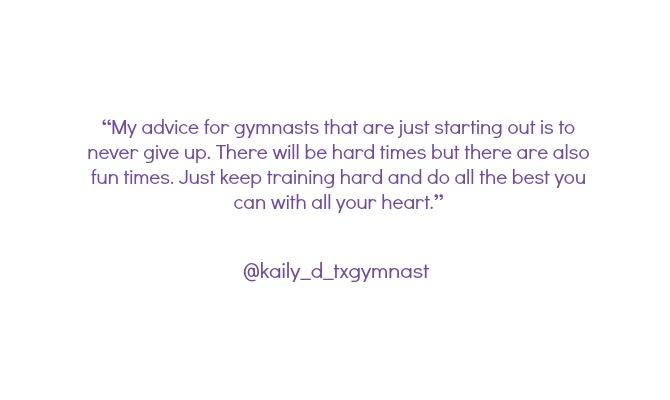 gymnasts on instagram advice