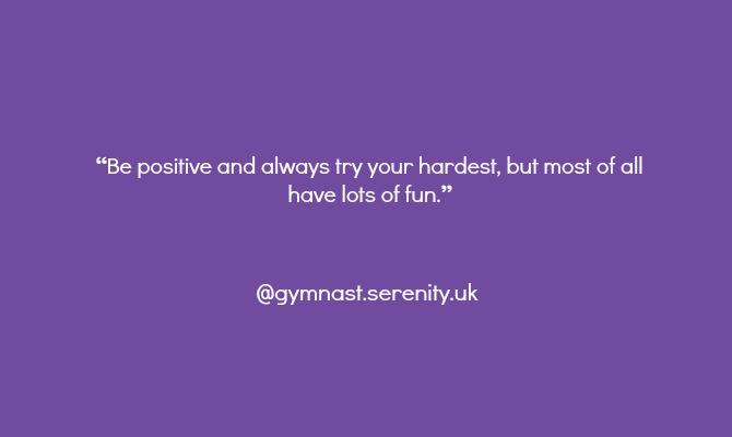 gymnast instagram advice