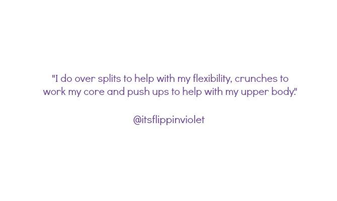 gymnastics skills at home
