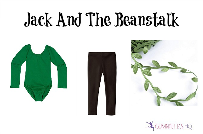 jack and beanstalk costume with leotard