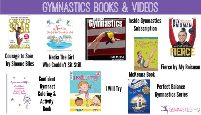 gymnastics books videos gifts