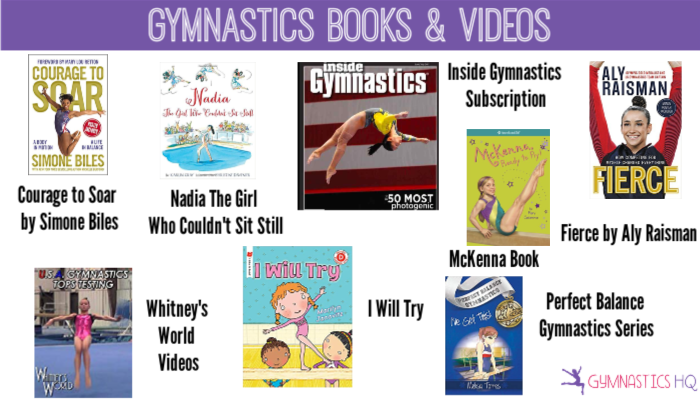 gymnastics books and videos gifts