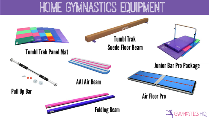 gymnastics equipment gifts