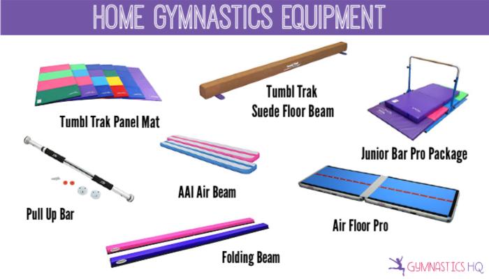 gymnastics equipment gifts