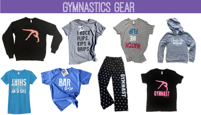 Gymnastics gifts clothes