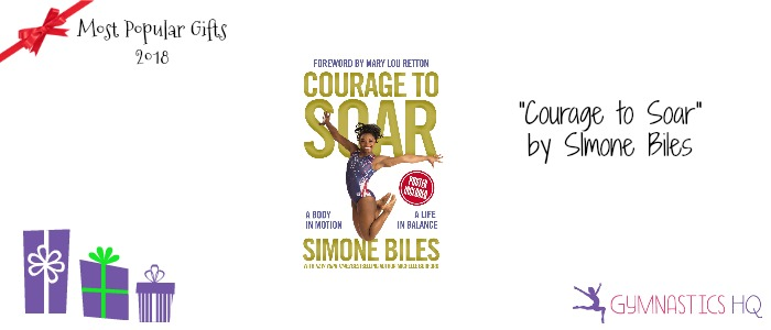 popular gymnastics gifts 2018 courage to soar book
