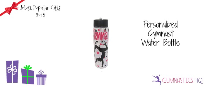 popular gymnastics gifts 2018 water bottle