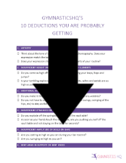 10 deductions you are probably getting checklist