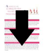 press handstand drills