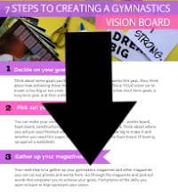 7 Steps To Creating a Gymnastics Vision Board