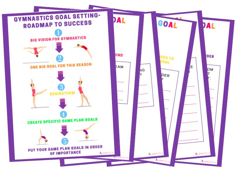gymnastics goal setting roadmap