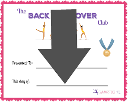 balk walkover club certificate