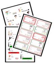 gymnastics christmas labels
