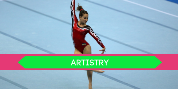 gymnastics deductions artistry