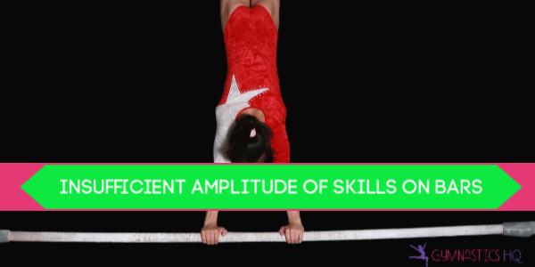 gymnastics deductions on bars