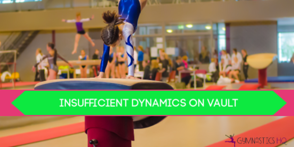 gymnastics deductions insufficient dynamics