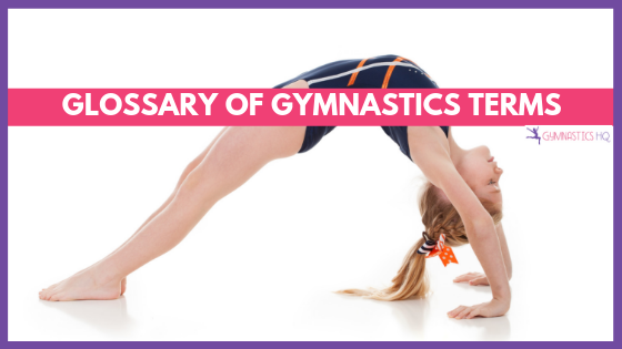 Glossary of gymnastics terms
