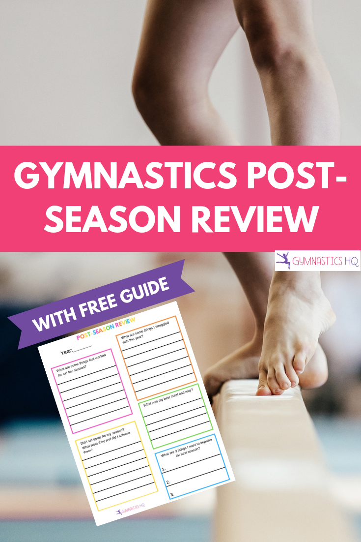 Post-Season Review Guide for Gymnastics