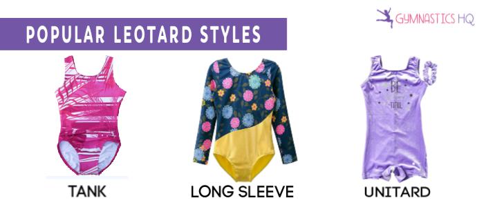 gymnastics leotard styles