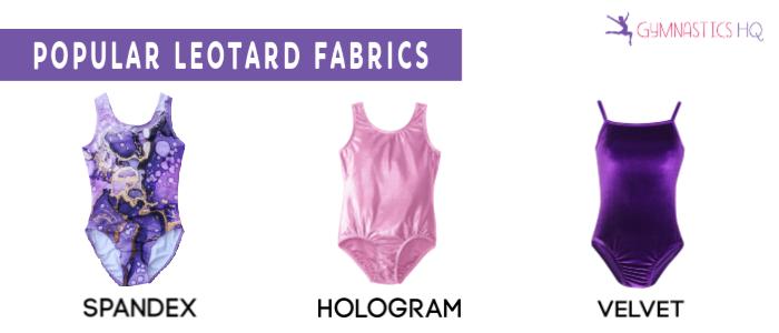 popular gymnastics leotard fabrics
