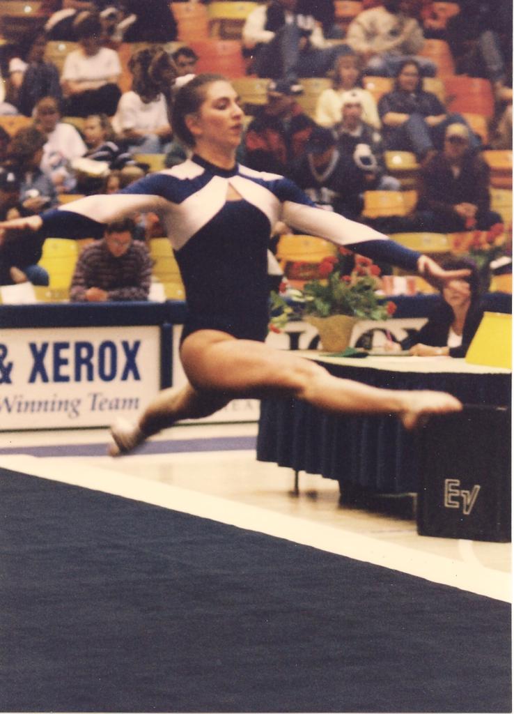 Melisa Torres of the Perfect Balance Gymnastics Series