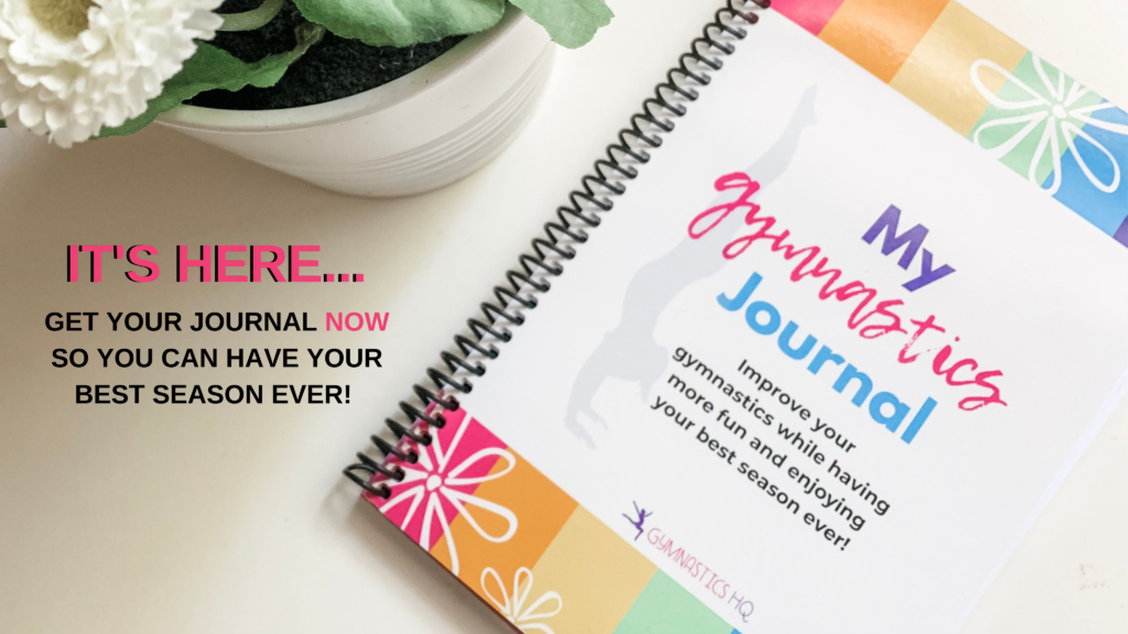 This gymnastics mindset meet journal will help you have your best season ever!
