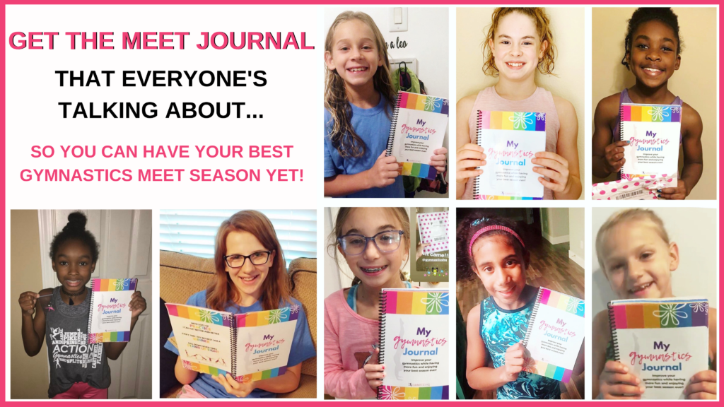 Get this Gymnastics Meet Journal to have your best season yet!