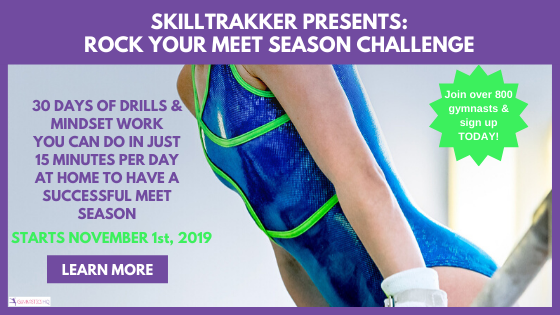 Join us in November as we teach you how to rock your gymnastics meet season.