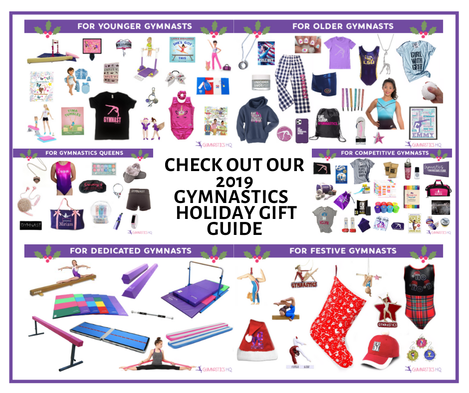 Check out our 2019 holiday gift guide for gymnastics!