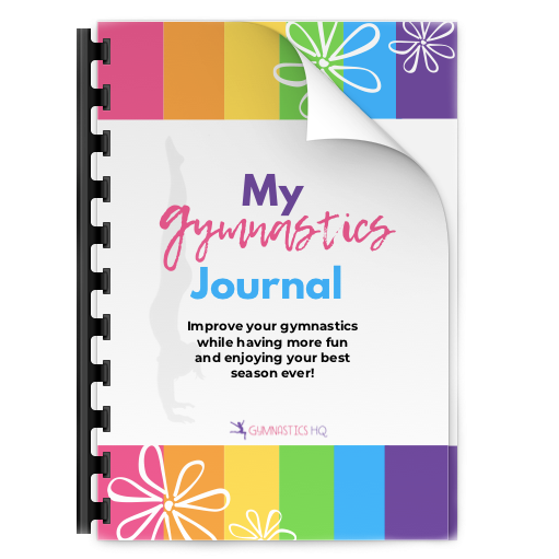 This Gymnastics Mindset Meet Journal is an amazing gift for your competitive gymnast.