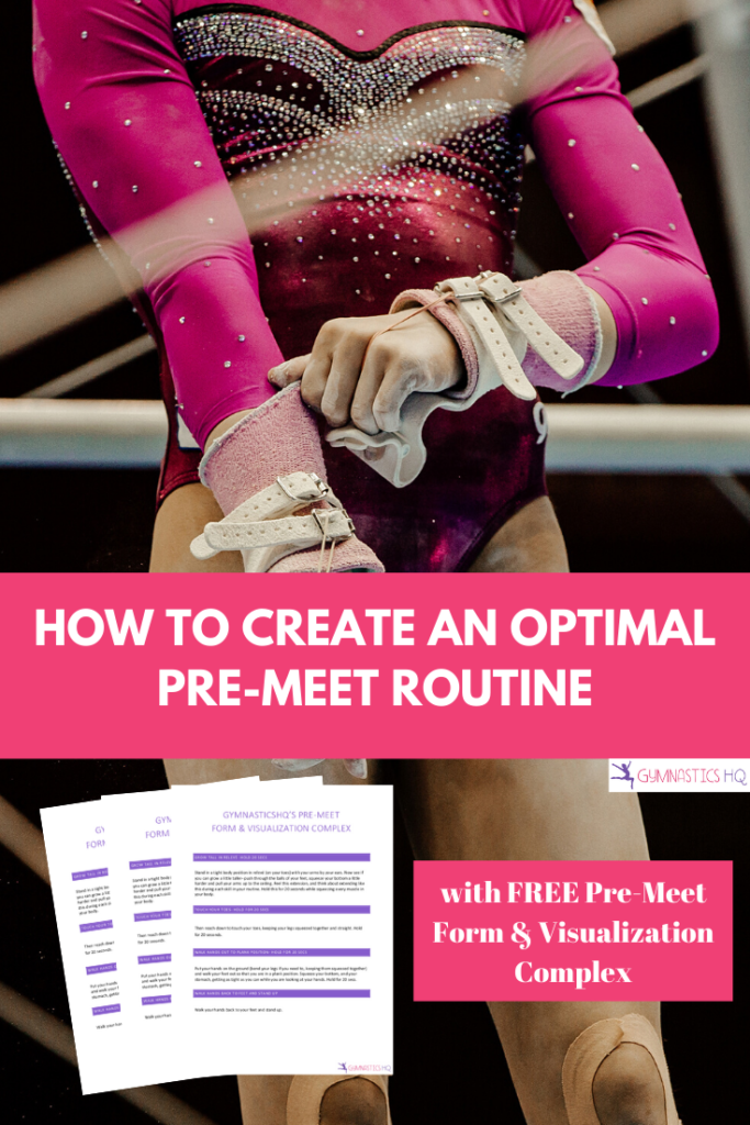 Learn how to create an optimal pre-meet routine