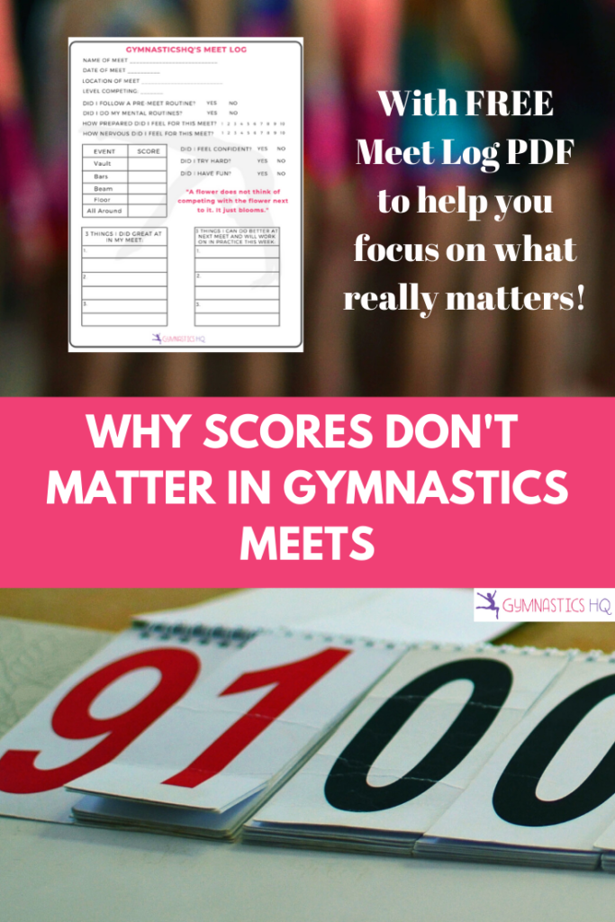 Find out what really matters in gymnastics meets!