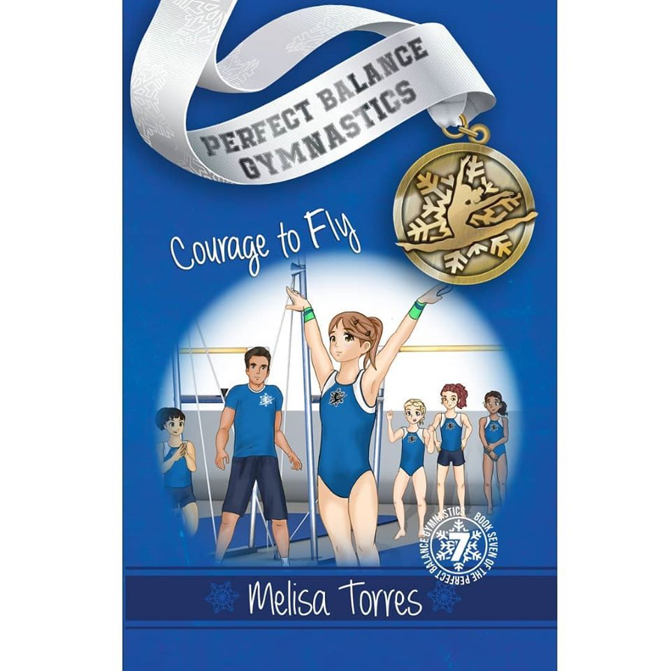 The latest book in this gymnastics series is Courage To Fly and is perfect for the gymnast who loves to read.