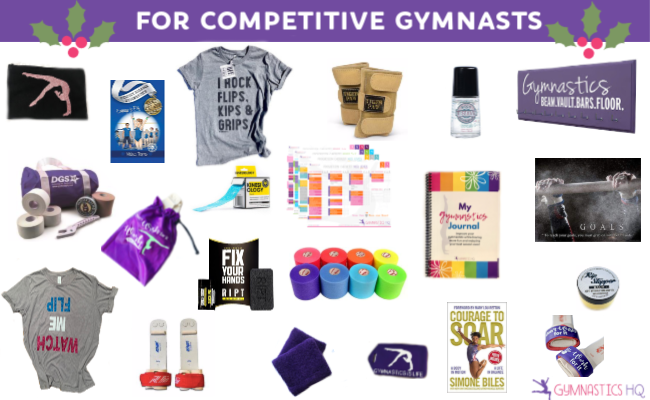 gymnastics gifts competitive gymnasts