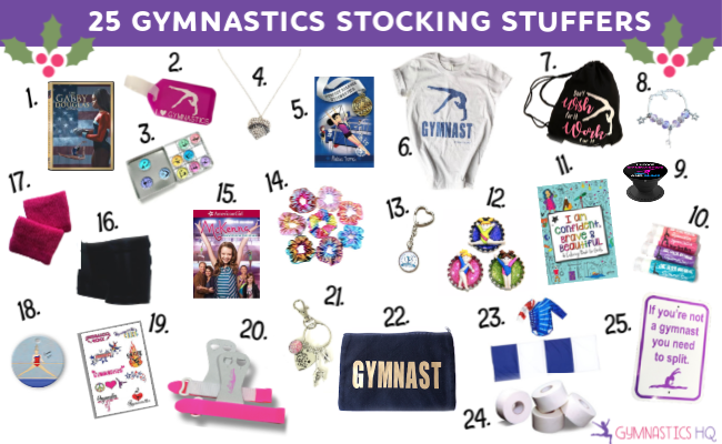 Check out our list of 25 stocking stuffers for gymnasts