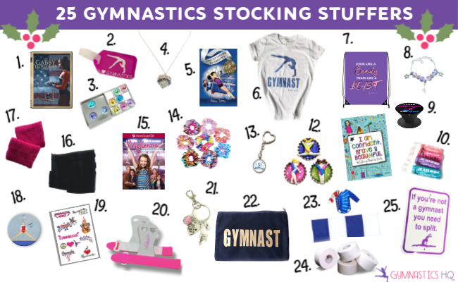 gymnastics stocking stuffers
