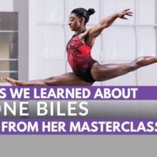 5 Things We Learned About Simone Biles from her MasterClass Course